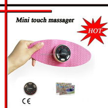 Mini Tens units electric slimming manual butterfly tens breast massager electrode pads