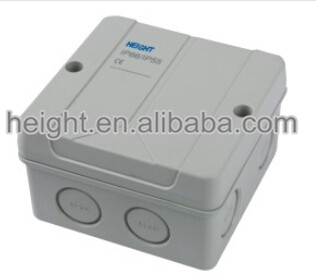 Electric PVC Junction Boxes ABS PVC Plastic Terminal Sealed Connecting Cable Junction box Made in China