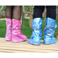 Motorcycle Mens and womens Waterproof raining cover shoes