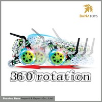 Cheap and fine portable rotation radio control car