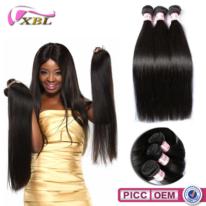 2015 XBL 100% Indian Virgin Human Hair Cheap Human Hair Bundles