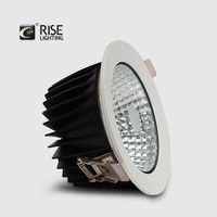 IP65 Waterproof 15W LED Ceiling Light for shower ,outdoor cob led downlight cutting 130mm with 5 years warrenty TUV CE SAA