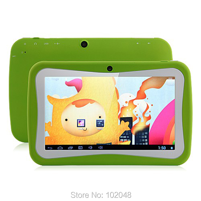 7 inch kids Tablet Google quad Core Android 5.1 with games Learn Grow Play Kids Education PC Tablet