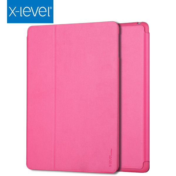 X-Level Excellent quality shockproof pu leather flip universal tablet case for ipad air