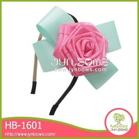 Cheap good color brand customized flower unique headbands