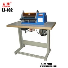 LZ-102 shoe making alban glue machine for leather bags