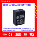 Led Battery 6v 4ah rechargeable lead acid battery