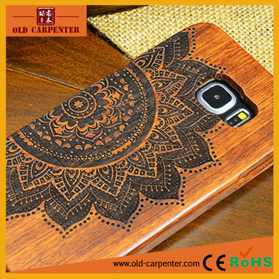Wholesale mobile phone spare parts wooden/bamboo mobile phone protection cover