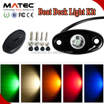 MATEC Factory Mini 2Inch DC12V For SUV Truck Jeep Cars Boat Led Rock Lamp