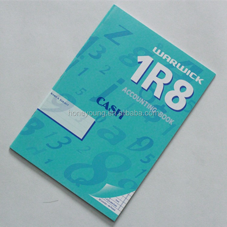 professional printing factory wholesale 1R8 cash account book