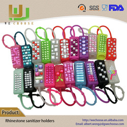 Wholesale new design hand sanitizer silicone case for perfume holder