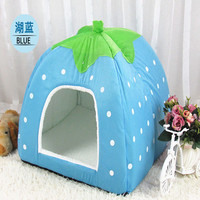 2017 Amazon Best Custom Strawberry Pet Bed Dog Bed Cat House