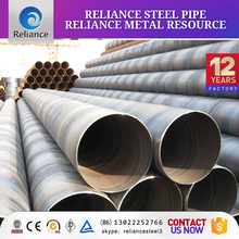 spiral welded carbon steel line pipe