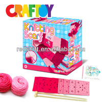 en71 trendy knitting kit craftoy scarf