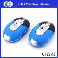 2.4Ghz computer pc 3d usb wireless mini optical gift mouse
