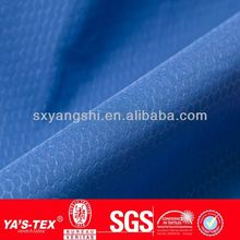 100% polyester pu coating fabric for clothing garment