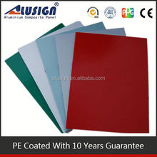 Thick aluminum alloy composition