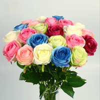2016 Best Sell In Europe High Quality Silk Rose Artificial Flower