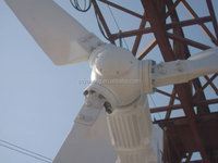 5kw,10kw pitch controlled horizontal axis wind turbine generator / windmills /grid tie / off grid controller + inverter