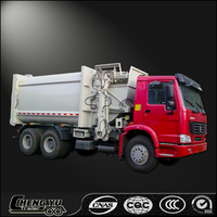 Alibaba garbage compactor truck quality garbage truck