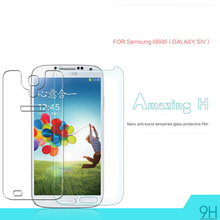 9H Anti-Explosion Tempered Glass Screen Film For Samsung I9500/GALAXY S4