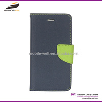[Somostel] Leather Flip Case for Samsung Galaxy E7 S5 with card holder, Wallet Flip Case Cover Flip for Samsung Galaxy E7