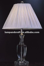 2012 Five Star Hotel table lamp crystal
