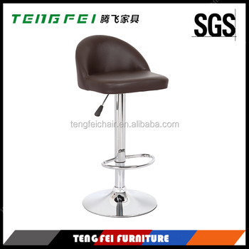 Led bar chair, Certificated SGS gas lift,385mm chroming base,360 degree swivel!