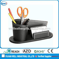 Single and fashion fashionable desk organizer with photo frame suit