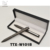 2018 March Expo Promotion Gift Set Packaging Plain Metal Black Color Gel Pen Set Gift Box