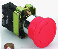 XB2-BS542 emergency pushbutton switch push lock turn to release