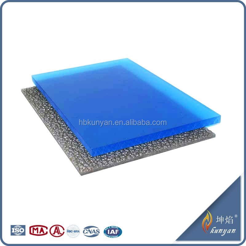 Durable insulation 10mm polycarbonate uv400 protection