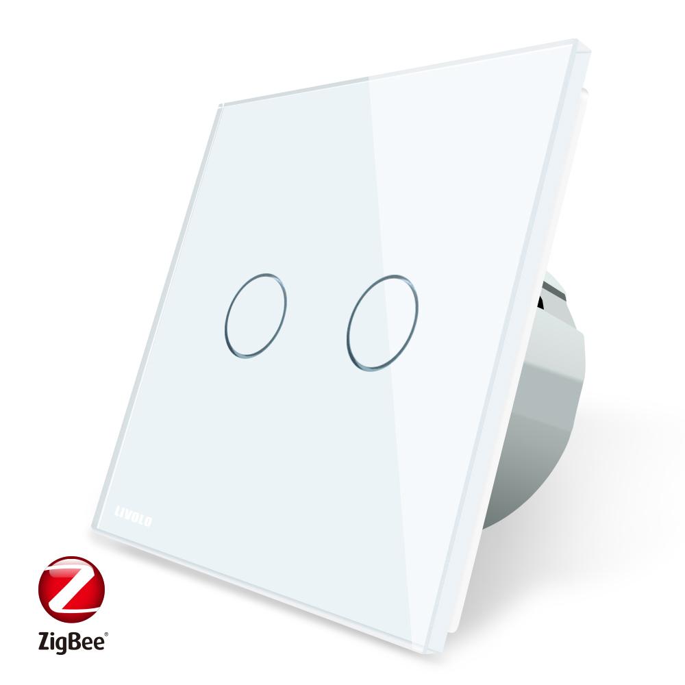 LIVOLO Automation Home EU Standard Smart ZigBee Wireless Touch Remote light switch - Famidy.com