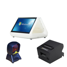 15 Touch Monitor POS System Touch Screen Order System Touch Screen Monitor Importer POS Thermal Printer Android Barcode Scanner