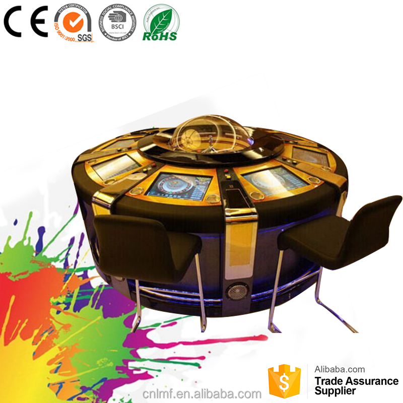 Hot coin operated win gambling roulette game machine