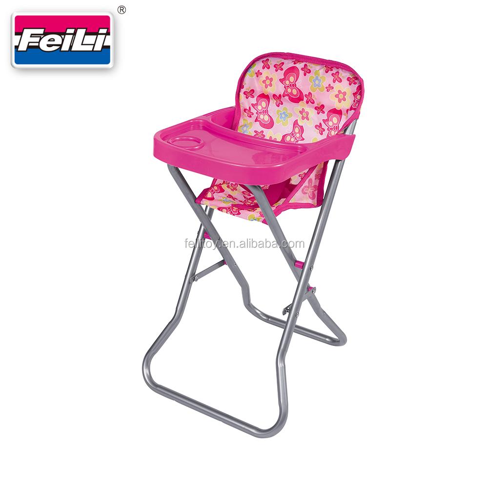 Feili Toys Doll Furniture For American Girl Doll Toys Highchair