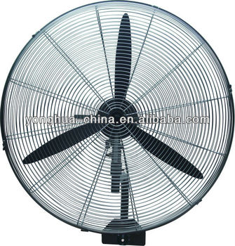 "factory 20""/24""/26""/30"" Powerful Industrial Wall Fan/Wall mounted Fan/SAA/CE/Full Metal/100% copper motor"