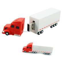 Custom Soft PVC truck shape USB flash drive