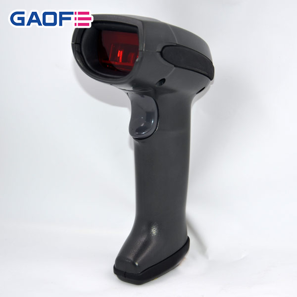 desktop Barcode scanner china supplier GF-917 Long range handheld barode Good Performance QR Code Scanner USB Door Lock Scanner