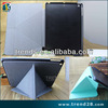 multifunction pc+pu folding leather case for ipad air