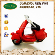 Resin diecast motorcycle model