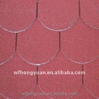 Fish-scale Standard Type asphalt shingle