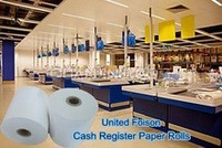 "2 5/16"" Cash Register Thermal Receipt Paper case of 12"