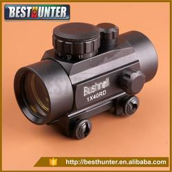Hunting NEW 1X40 RD Tactical Red Dot Sight Scope With Built In Covers Located in the 20 mm orbit