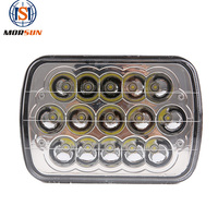"New design best selling 5""x7"" rectangular led headlight 45w 7 7x6 inch sealed beam led headlamp for Universal cars"