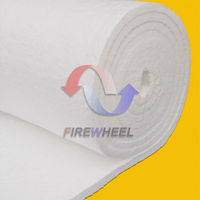 ceramic fibre wool thermal blanket insulation high temperature protection