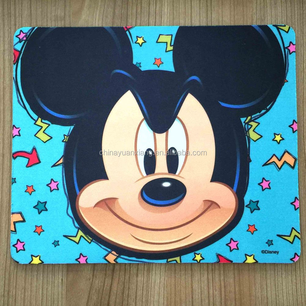 Cute Mickey Mouse Design Rubber Mouse Pad
