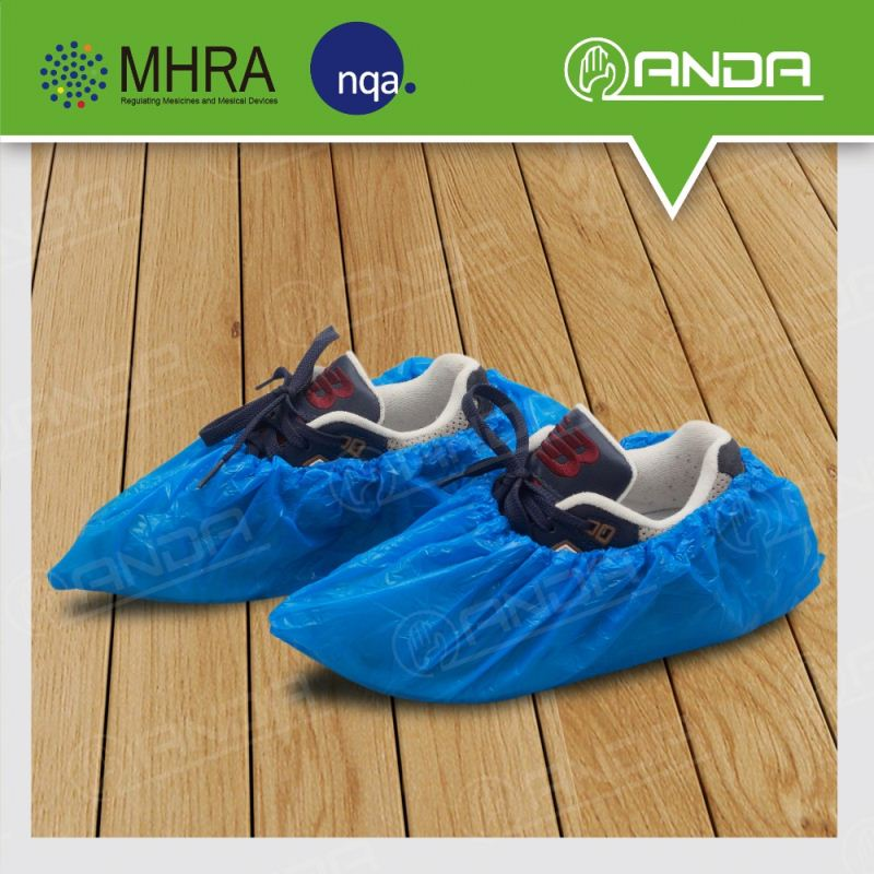 ADS001 Lightweight disposable plastic overshoes for rain