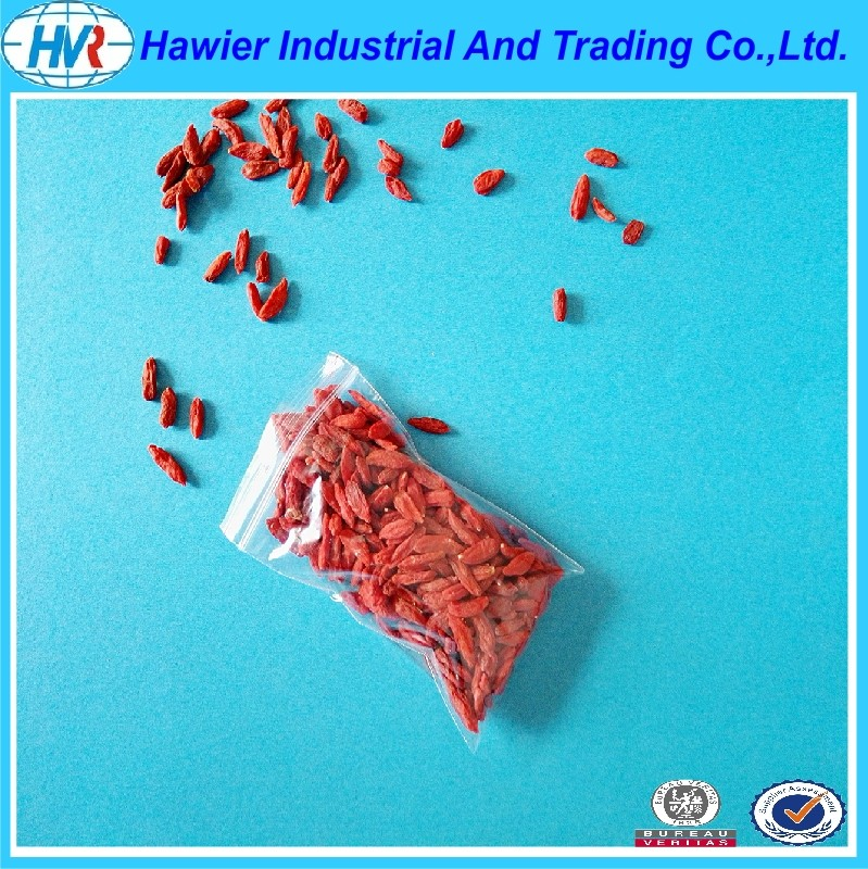 Quality clear low density poly resealable food bags from Hawier