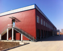 Pre-engineered steel structure buildings for industrial zone